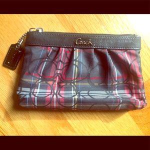 COACH Black wristlet / purse
